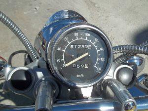 Cuentakms moto