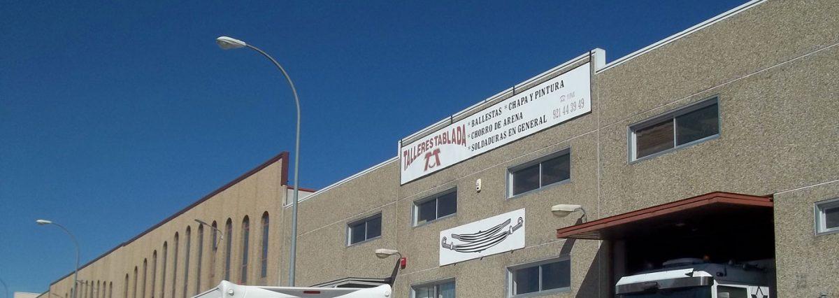 fachada empresa Talleres Tablada